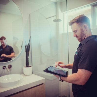 A photo of Chad Djulbic performing Bathroom Renovations Perth