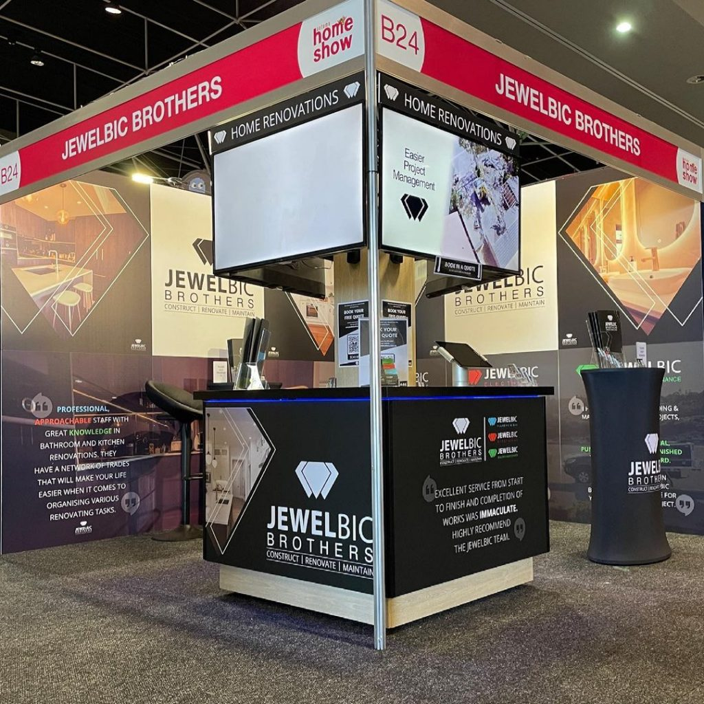 A photo of Jewelbic Brothers at the Perth Home Show