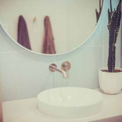 A photo of a bathroom renovation by Jewelbic Brothers: Bathroom Renovations Perth